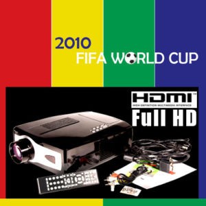 home theater projector for 2010 world cup